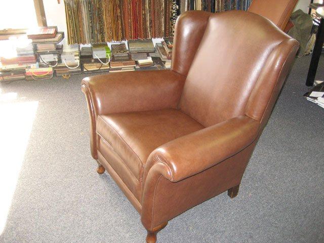 leather livingroom chair