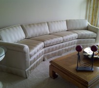 sofa reupholstered