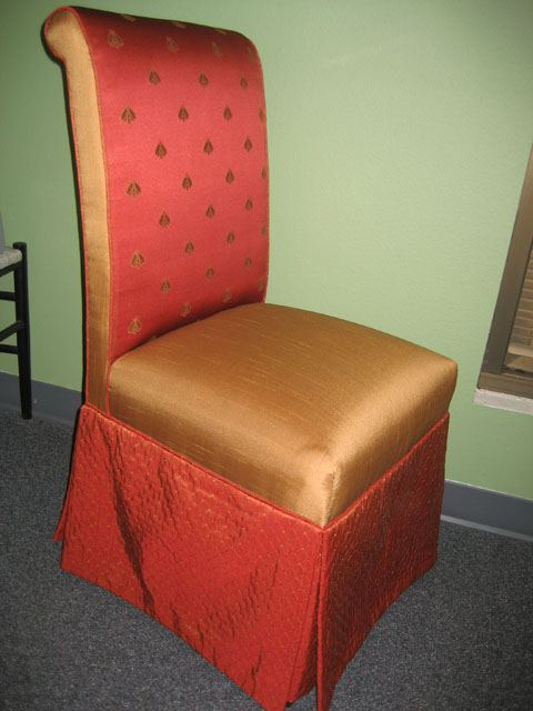Dining Room Chair With Skirt