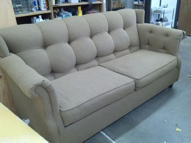 redesigned sofa