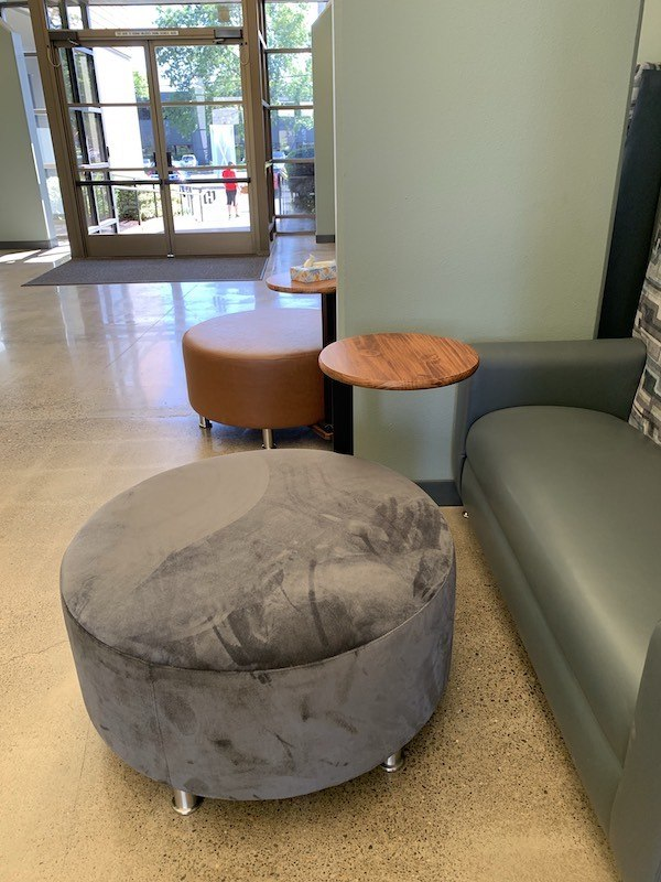 ottoman by lim's upholstery